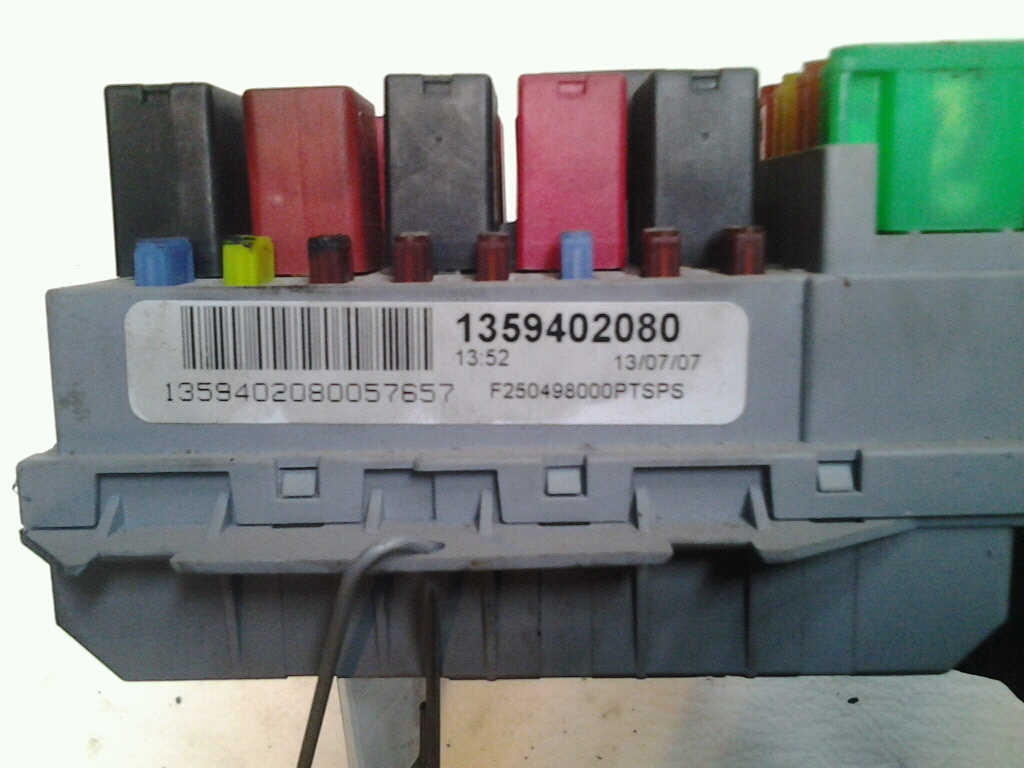 Fuse Box For Fiat Ducato Home