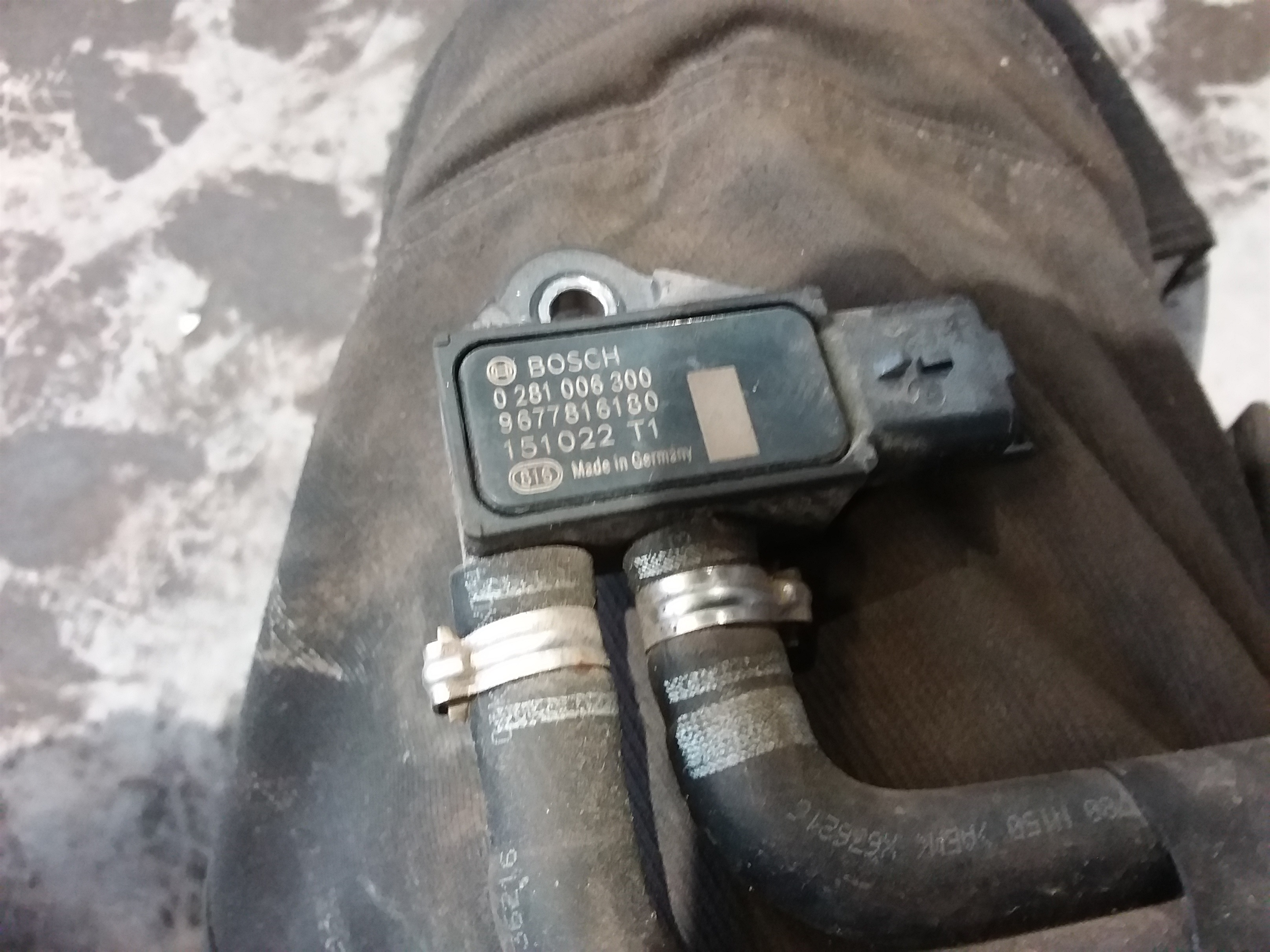 PEUGEOT/208 (12-->) DIFFERENCE TRYK SENSOR
