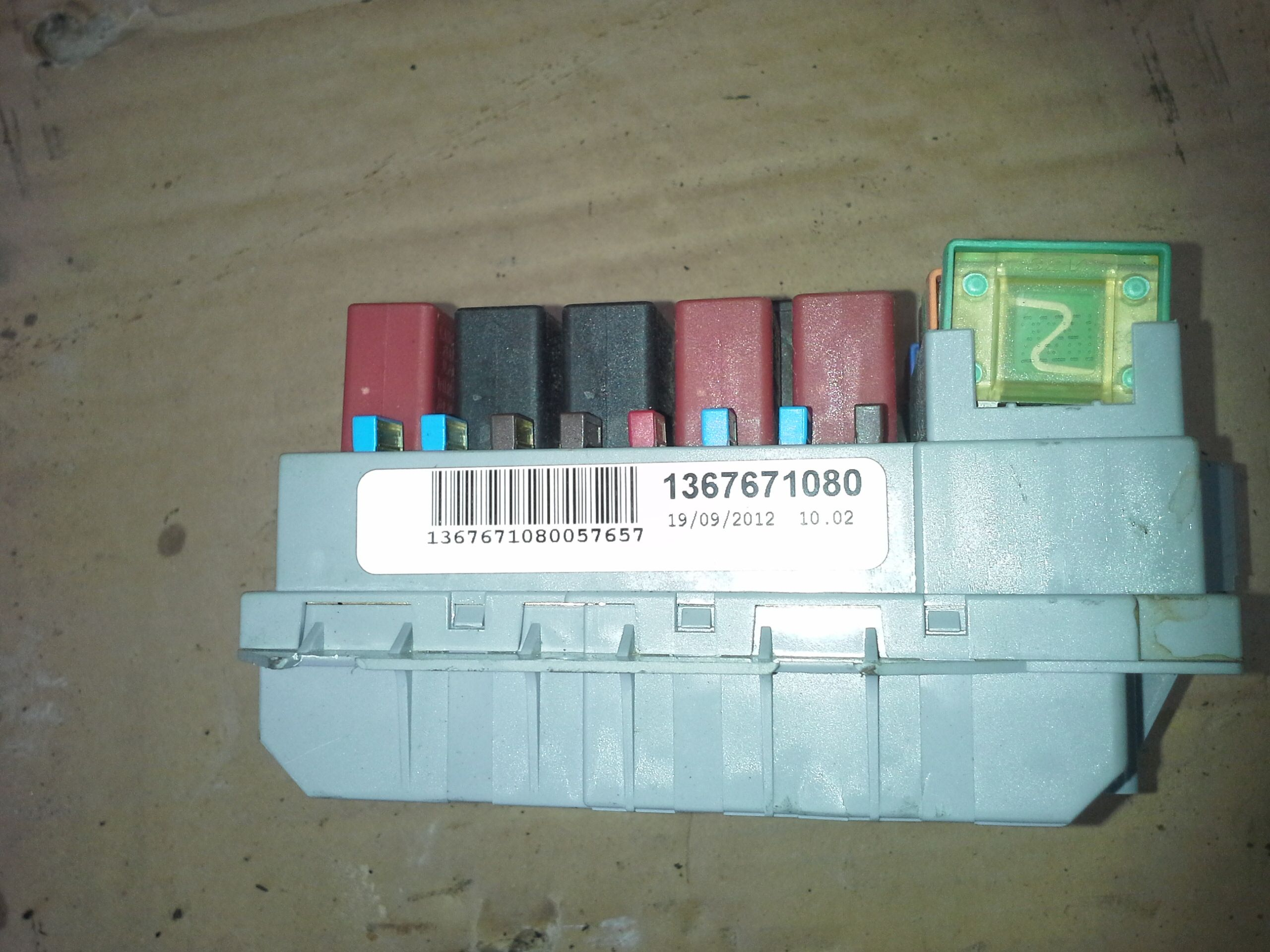 Fuse Box For Fiat Ducato Mej10430
